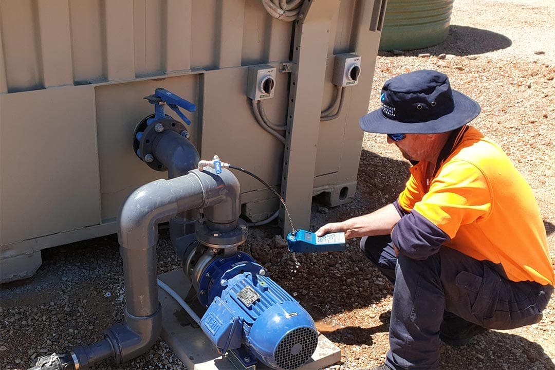Remote Water Treatment Services